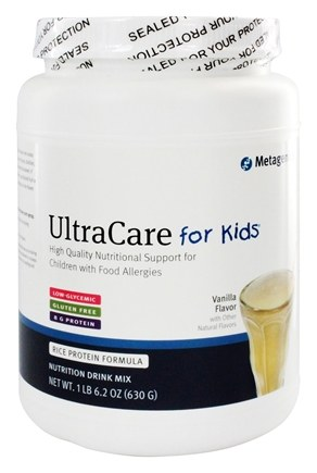DROPPED: Metagenics - Ultracare for Kids Medical Food Vanilla - 23 oz.
