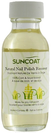 DROPPED: Suncoat - Natural Nail Polish Remover - 1 oz. CLEARANCE PRICED