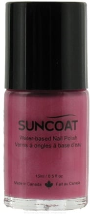DROPPED: Suncoat - Water-Based Nail Polish Peach Lover 03 - 0.5 oz. CLEARANCE PRICED