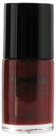 DROPPED: Suncoat - Water-Based Nail Polish Berry 04 - 0.5 oz. CLEARANCE PRICED