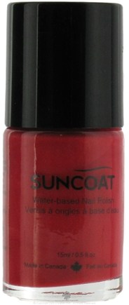 DROPPED: Suncoat - Water-Based Nail Polish Golden Peach 05 - 0.5 oz. CLEARANCE PRICED