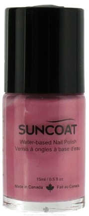 DROPPED: Suncoat - Water-Based Nail Polish Rose 08 - 0.5 oz. CLEARANCE PRICED