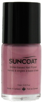 DROPPED: Suncoat - Water-Based Nail Polish Lilac 09 - 0.5 oz. CLEARANCE PRICED