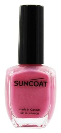 DROPPED: Suncoat - Water-Based Nail Polish Cotton Candy - 0.43 oz.