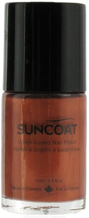 DROPPED: Suncoat - Water-Based Nail Polish Copper 13 - 0.5 oz. CLEARANCE PRICED
