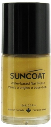DROPPED: Suncoat - Water-Based Nail Polish Gold 19 - 0.5 oz. CLEARANCE PRICED