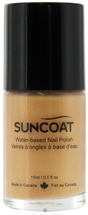 DROPPED: Suncoat - Water-Based Nail Polish Sparkling Sand 26 - 0.5 oz. CLEARANCE PRICED