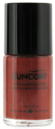 DROPPED: Suncoat - Water-Based Nail Polish Tangerine 29 - 0.5 oz. CLEARANCE PRICED