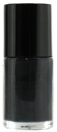 DROPPED: Suncoat - Water-Based Nail Polish Chic Black 33 - 0.5 oz. CLEARANCE PRICED