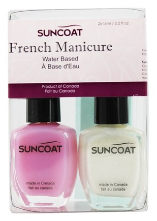 DROPPED: Suncoat - Water-Based French Manicure Kit