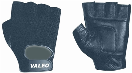 DROPPED: Valeo Inc. - Mesh Back Lifting Gloves- Black- Large - 1 Pair CLEARANCE PRICED