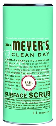 DROPPED: Mrs. Meyer's - Clean Day Surface Scrub Basil - 11 oz.