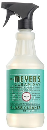 DROPPED: Mrs. Meyer's - Clean Day Glass Cleaner Spray Basil - 24 oz.