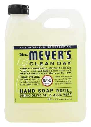 Mrs. Meyer's - Clean Day Liquid Hand Soap Refill Lemon Verbena - 33 oz.