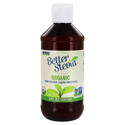 NOW Foods - Certified Organic Liquid Stevia Extract - 8 oz. (formerly Non-Bitter)
