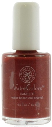 DROPPED: Honeybee Gardens - Watercolors Water Based Nail Enamel Camelot - 0.5 oz. CLEARANCE PRICED