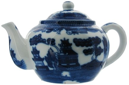 DROPPED: Harold Import - Teapot with Infuser Blue Willow - 16 oz.