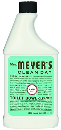 DROPPED: Mrs. Meyer's - Clean Day Toilet Bowl Cleaner Basil - 32 oz.