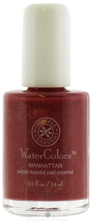 DROPPED: Honeybee Gardens - Watercolors Water Based Nail Enamel Manhattan - 0.5 oz. CLEARANCE PRICED
