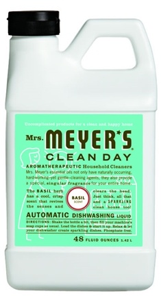 DROPPED: Mrs. Meyer's - Clean Day Automatic Dishwashing Liquid Basil - 48 oz.