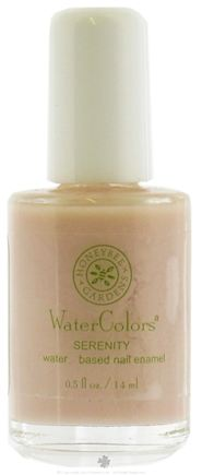 DROPPED: Honeybee Gardens - Watercolors Water Based Nail Enamel Serenity - 0.5 oz. CLEARANCE PRICED
