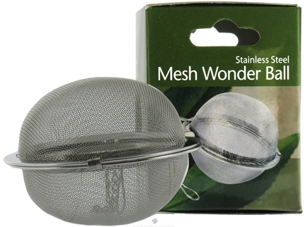 Harold Import - Stainless Steel Mesh Wonder Tea Ball 2 1/2 inch