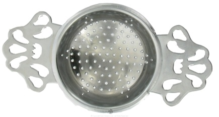 DROPPED: Harold Import - English Tea Strainer Chrome - CLEARANCE PRICED