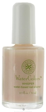 DROPPED: Honeybee Gardens - WaterColors Water Based Nail Enamel Whisper - 0.5 oz.