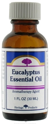DROPPED: Heritage - Eucalyptus Essential Oil Aromatherapy Agent - 1 oz. CLEARANCE PRICED