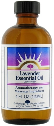 DROPPED: Heritage - Lavender Essential Oil Aromatherapy and Massage Ingredient - 4 oz.