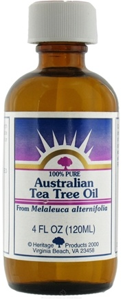 DROPPED: Heritage - 100% Pure Australian Tea Tree Oil From Melaleuca Alternifolia - 4 oz.