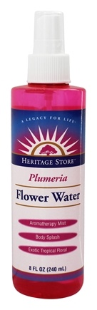 Heritage - Flower Water Atomizer Plumeria - 8 oz.