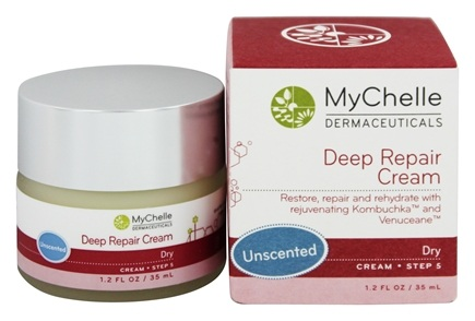 MyChelle Dermaceuticals - Deep Repair Cream For Dry Skin Unscented - 1.2 oz.
