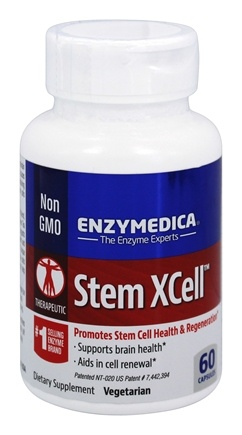 Enzymedica - Stem XCell - 60 Capsules Formerly NaturaCell Stem Cell Health Promoter