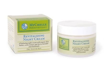 DROPPED: MyChelle Dermaceuticals - Revitalizing Night Cream for Dry/Mature Skin Travel Size - 0.165 oz.