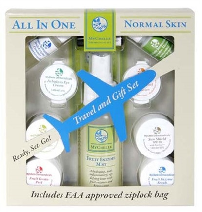 DROPPED: MyChelle Dermaceuticals - All In One Travel and Gift Set Normal Skin - CLEARANCE PRICED