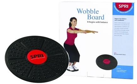 DROPPED: SPRI - Plastic Wobble Board - CLEARANCE PRICED