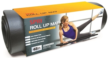 DROPPED: SPRI - Roll & Go Fitness Mat - 48""