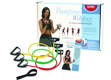 DROPPED: SPRI - Pumping Rubber with the Xertube and DVD - CLEARANCE PRICED
