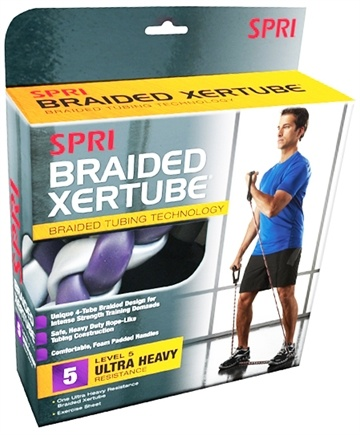 DROPPED: SPRI - Braided Xertube Level 5 - Ultra Heavy Resistance