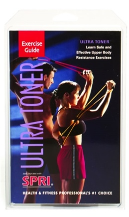 DROPPED: SPRI - Ultra Toner Exercise Guide - 1 Book(s) CLEARANCE PRICED
