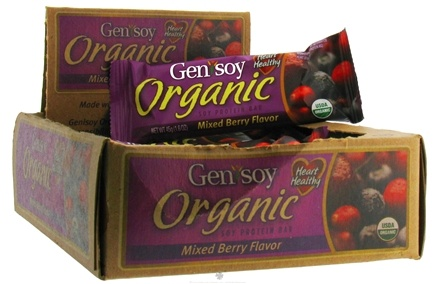DROPPED: Genisoy - Protein Bar Organic Mixed Berry Flavor - 1.6 oz.