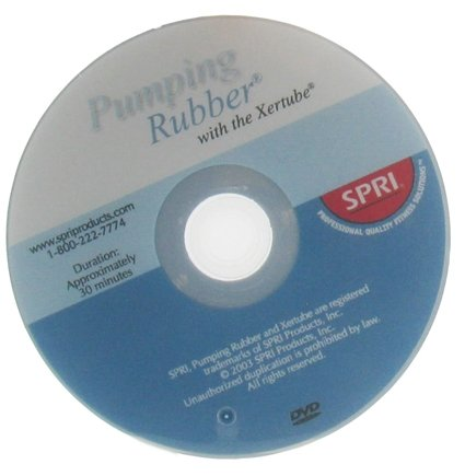 DROPPED: SPRI - Pumping Rubber with the Xertube DVD - 1 DVD(s) CLEARANCE PRICED