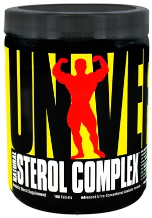 DROPPED: Universal Nutrition - Natural Sterol Complex - 180 Tablets