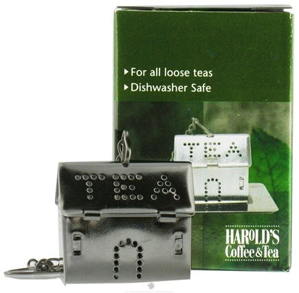 DROPPED: Harold Import - Stainless Steel Tea House Infuser with Caddy - CLEARANCE PRICED