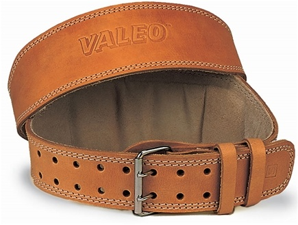 DROPPED: Valeo Inc. - Leather Lifting Belt 6 Inch-Tan - Large - CLEARANCE PRICED