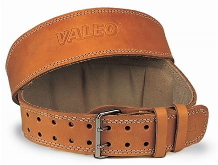 DROPPED: Valeo Inc. - Leather Lifting Belt 4 Inch-Tan- Medium CLEARANCE PRICED