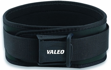 DROPPED: Valeo Inc. - Competition Classic Lifting Belt 6 Inch Black Large - CLEARANCE PRICED
