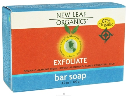 DROPPED: New Leaf Organics - Bar Soap Exfoliate - 4.2 oz. CLEARANCE PRICED