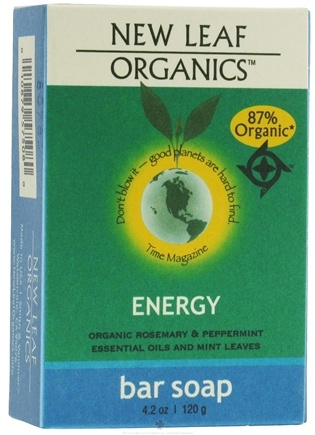 DROPPED: New Leaf Organics - Bar Soap Energy - 4.2 oz.